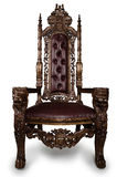 трон Стоковые Изображения
