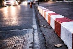 Тропа безопасности для дорожки стоковые фотографии rf