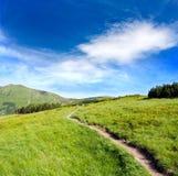 тропа гор Стоковые Фото