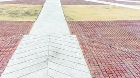 Тропа и плитка Стоковые Фотографии RF