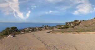 Тропа которая обозревает береговую линию пляжа Laguna Стоковое Фото
