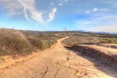 Тропа которая обозревает береговую линию пляжа Laguna Стоковые Фото
