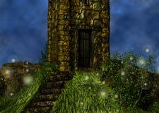 Тропа к иллюстрации двери Стоковые Фото