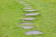 Тропа природы сада каменная Стоковые Изображения RF