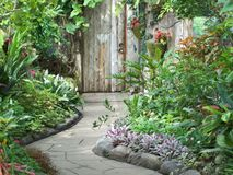 Тропа сада Стоковые Фото