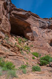 Тропа Moab Юта каньона охотника Стоковые Фото