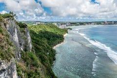 Тропики Гуама стоковая фотография rf
