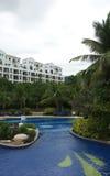 тропик гостиницы Стоковая Фотография RF