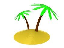 тропик острова Стоковая Фотография RF