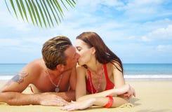 тропик поцелуя Стоковая Фотография