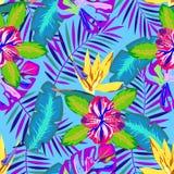 Тропическая абстрактная картина Стоковое Изображение