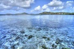 Тропическая бухточка стоковое изображение