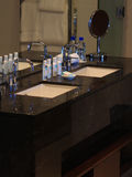 Тропическая ванная комната курорта Стоковое фото RF