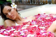 Тропическая ванна Стоковые Фото