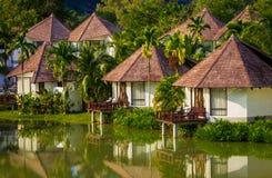 Тропическая вилла Стоковая Фотография