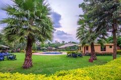 Тропическая гостиница ложи outdoors Стоковое Фото