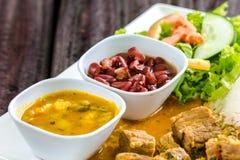 Тропическая еда стоковое изображение rf
