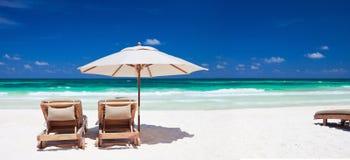 тропическая каникула Стоковые Изображения RF
