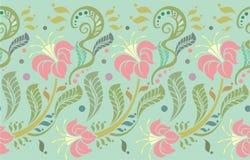 Тропическая предпосылка цветков Стоковое Фото