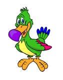 Тропическая птица Иллюстрация штока