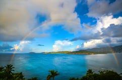 Тропическая радуга Стоковые Изображения RF