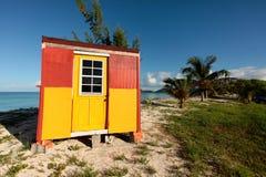 Тропическая хата пляжа Стоковые Фотографии RF