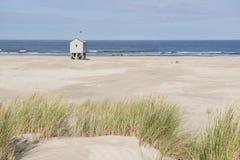 Тропическая хата пляжа Стоковое Изображение