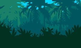 Тропические джунгли иллюстрация вектора
