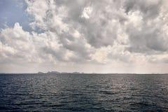 Тропические острова Phang Nga в море Andaman стоковое фото