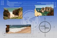 Тропические пляжи иллюстрация штока