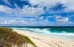 Тропические пляж и море стоковые изображения
