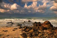 Тропические пляж и море Стоковое Изображение