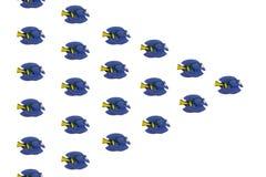 Тропические рыбы игрушки Стоковые Изображения RF