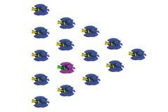 Тропические рыбы игрушки Стоковые Изображения