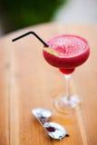 Тропические стекла коктеиля и солнца Стоковые Изображения