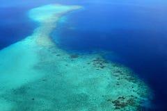 Тропический атолл Стоковые Изображения RF