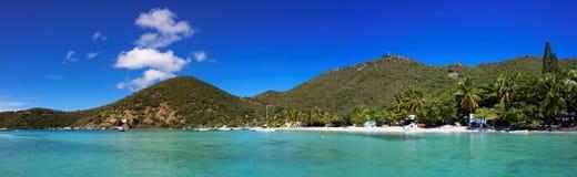 Тропический бечевник в острове великобританской девственницы & x28; BVI& x29; , Карибский Стоковое Фото