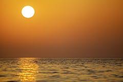 Тропический восход солнца - ландшафт Стоковые Изображения