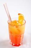 Тропический коктеил в стекле Стоковые Фотографии RF