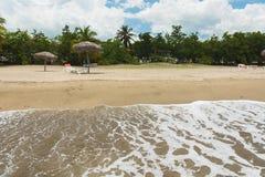 Тропический курорт на карибском море стоковые фотографии rf