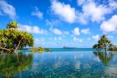 Тропический курорт Стоковые Изображения