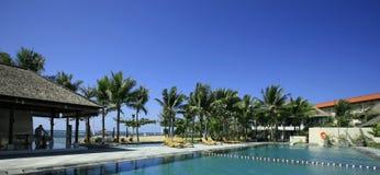 Тропический курорт стоковая фотография