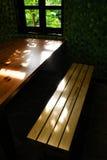 Тропический класс с видом на сад Стоковые Фото