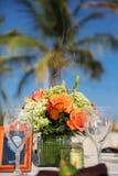 Тропический обедать стоковые фотографии rf
