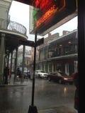 Тропический дождливый день пути двери острова Стоковые Фото