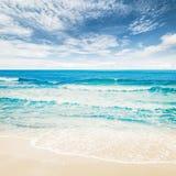 Тропический океан пляжа Стоковое Фото