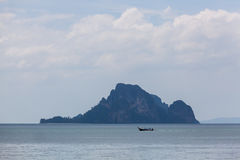 Тропический остров около Ao Nang, Таиланда Стоковые Фото