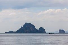 Тропический остров около Ao Nang Стоковые Изображения RF