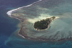 Тропический остров Стоковое Изображение