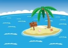 Тропический остров Стоковое Фото